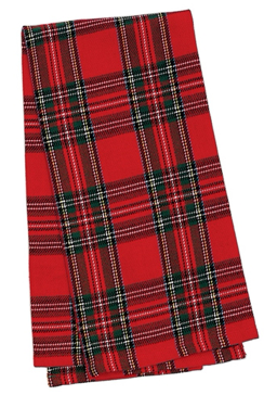 Holiday  Plaid Towel