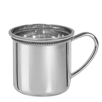 Cambridge Beaded Sterling Silver Baby Cup