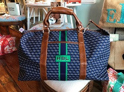 Monogrammed Captains Bag