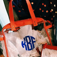 Monogrammed Caryall Tote