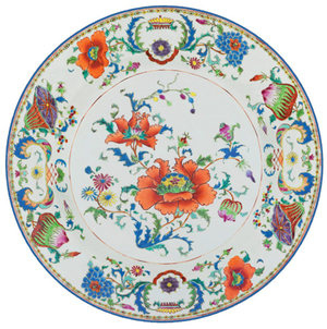 Chinese Ceramic Die-Cut Placemat