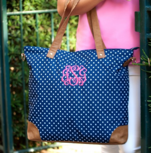 Monogrammed Shoulder Bag