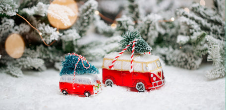 Love Camper Ornament