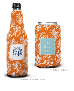 Coral Repeat Koozies