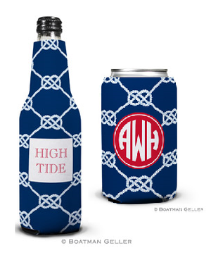 Nautical Knot Navy Koozies
