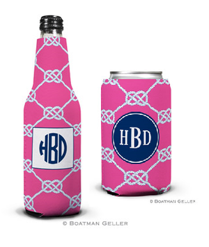 Nautical Knot Raspberry Koozies