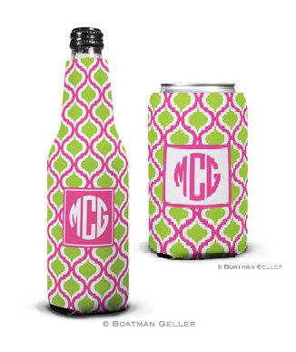 Kate Raspberry & Lime Koozies