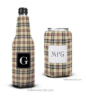 Town Plaid Koozies