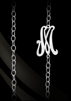 Single Initial Convertible Necklace