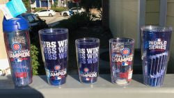 Cubs World Series Tervis