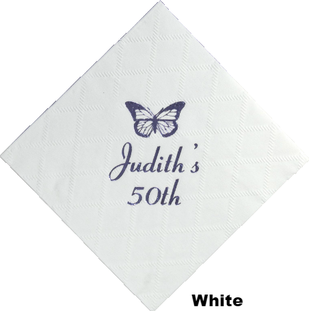 Custom Diamond Collection 3-Ply Beverage Napkin