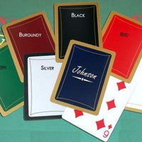 Personalized Executive Playing Cards