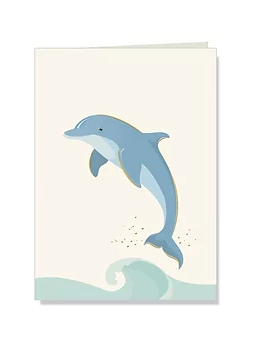 Dolphin Folded Notes