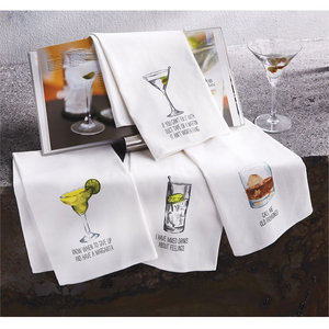 Cocktail Dish Towels