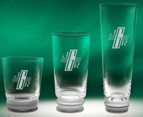 Engraved Echo Glass Barware Collection