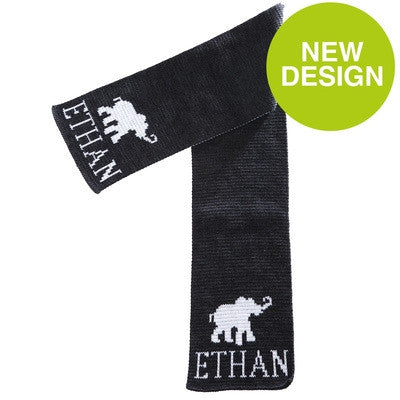 Personalized Elephant Scarf