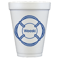 Personalized Foam Cups (12oz)