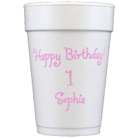 Personalized Foam Cups (14oz)