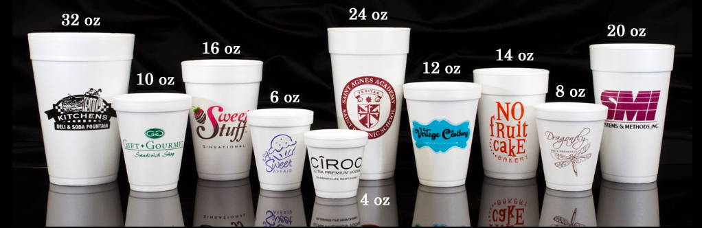 Personalized Foam Cups (8oz)