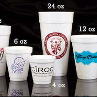 Personalized Foam Cups (24oz)