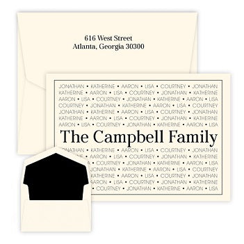 Preston Family Pride Oversized Raised Ink Folded Notes
