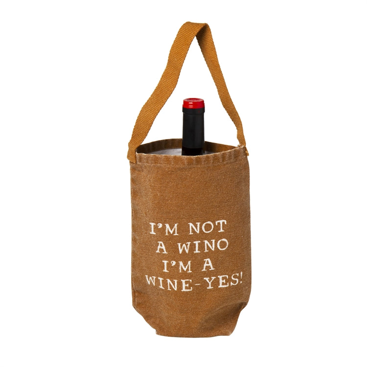 I'm Not a Wino Wine Bag