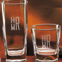Geo Engraved Glass Collection