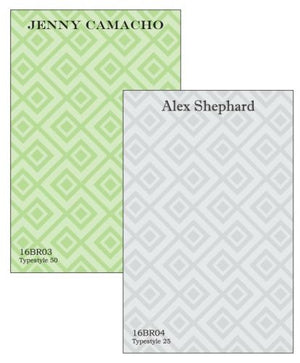 Personalized Geometric Notepad Collection