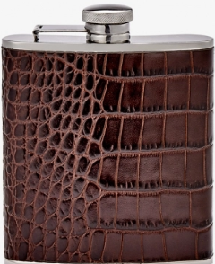 6 oz Flask Embossed