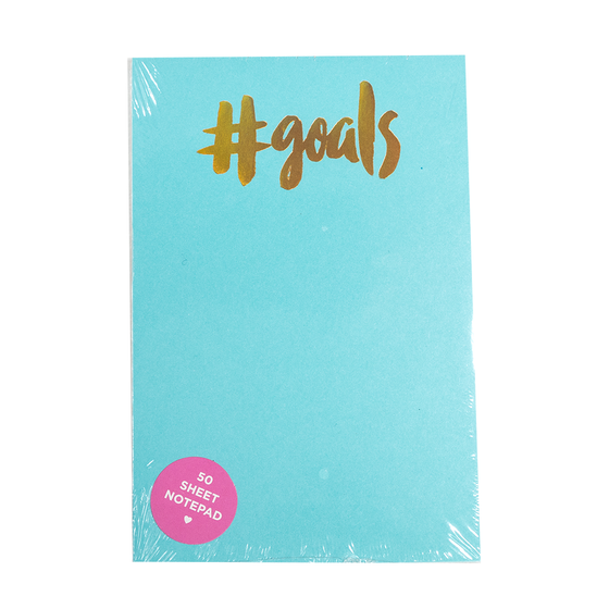 #goals Notepad