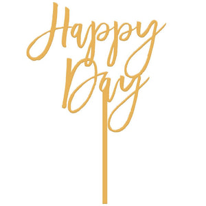 Happy Day Cake Topper