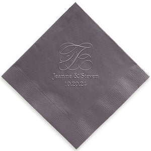 Estate Napkin - Embossed