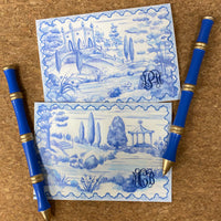 Tuscan Toile Box Notes