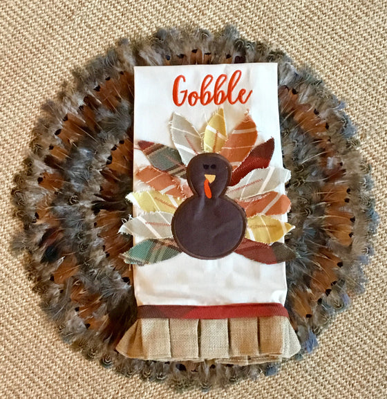 Gobble Tea Towel