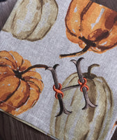Watercolor Pumpkin Napkin Set