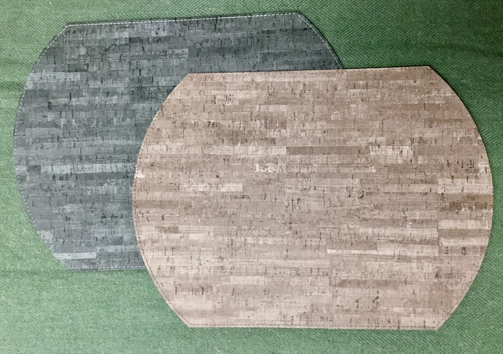 Reversible Vinyl Cork Placemats