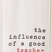 Influence Teacher Dish Towel