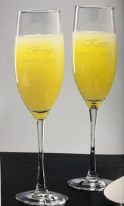 Engraved Lyrica Stemware Collection