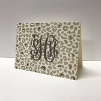 Personalized Jaguar Folded Notes