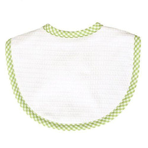Medium Gingham Pique Bib
