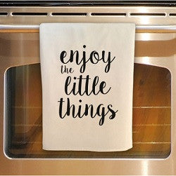 Little Things Tea Towel