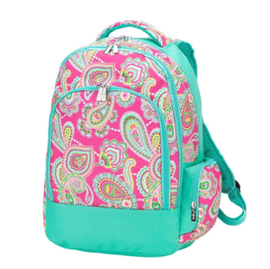 Monogrammed Lizzie Backpack
