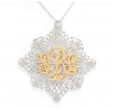 Louise Filigree Pendant