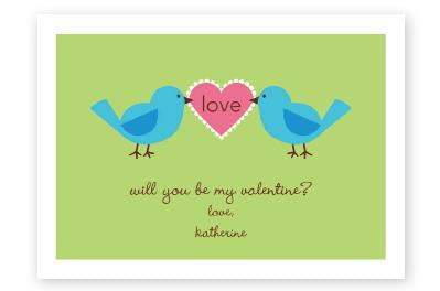 Love Birds Valentine