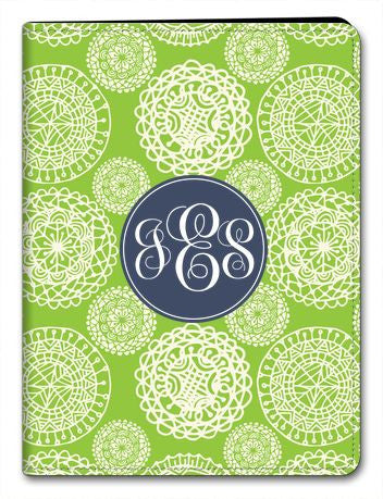 Personalized Love Lace iPad 2/3/4 Folio
