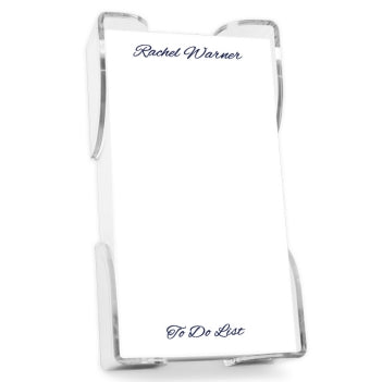 Highland List - White with holder