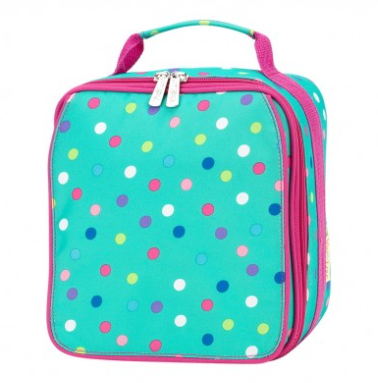 Monogrammed Lottie Lunch Box