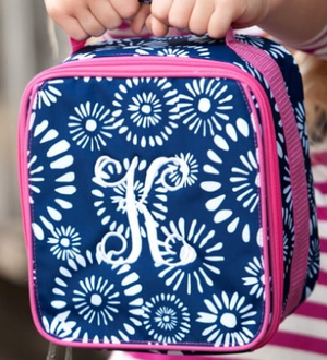 Monogrammed Riley Lunch Box
