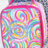 Monogrammed Summer Sorbet Lunch Box