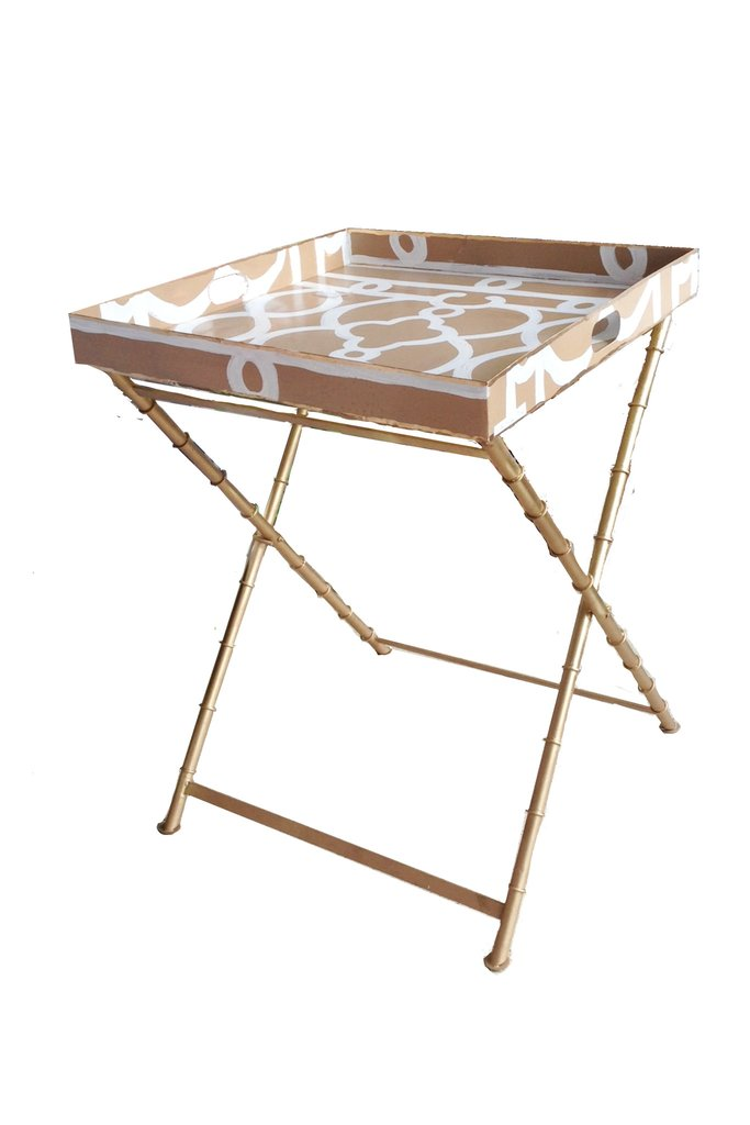 Dana Gibson Ming Table & Stand